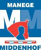 Logo Manege Middenhof even groot als PSV logo